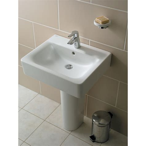 ideal bathrooms ideal standard concept cube 50cm bathroom basin uk bathrooms