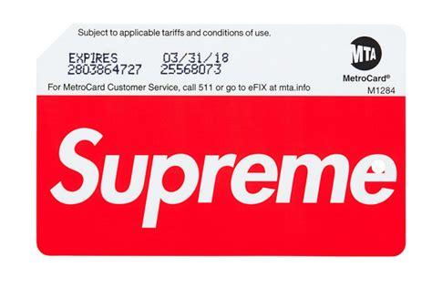 supreme new york supreme starts frenzy at new york subway stations racked