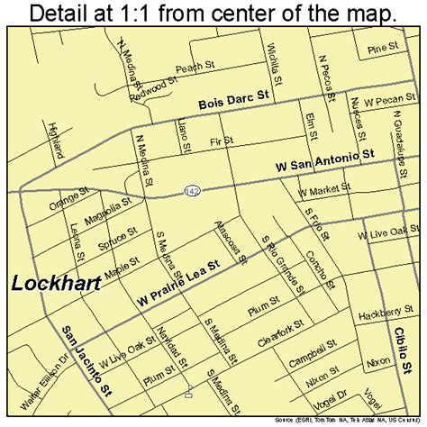 map of lockhart texas lockhart texas map 4843240