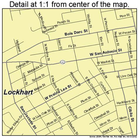 lockhart texas map lockhart texas map 4843240