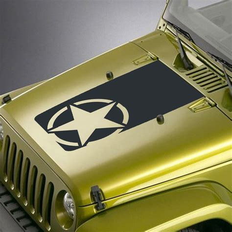 jeep wrangler military decals army jeep star decals car interior design