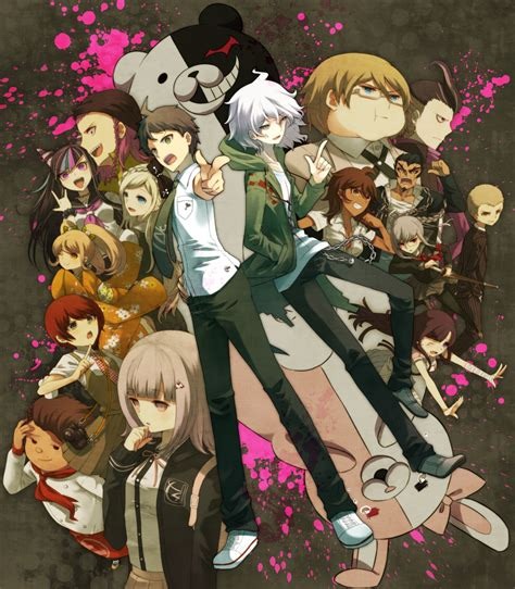 danganronpa anime season dangan ronpa on anime high school students