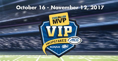 Food Lion Sweepstakes - 2017 food lion mvp vip sweepstakes winzily