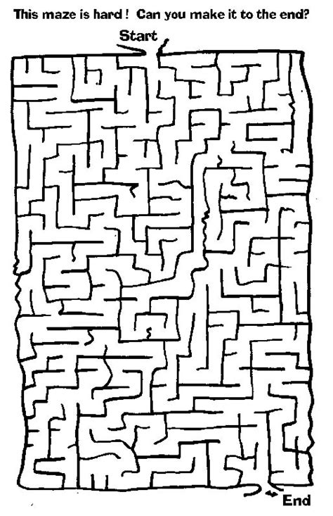 6 best images of big printable mazes free printable free maze worksheets