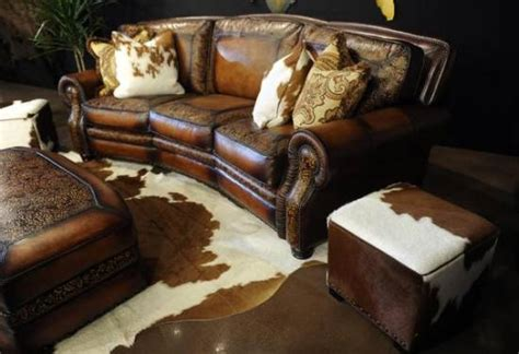cowhide living room furniture 16 western living room decorating ideas ultimate home ideas