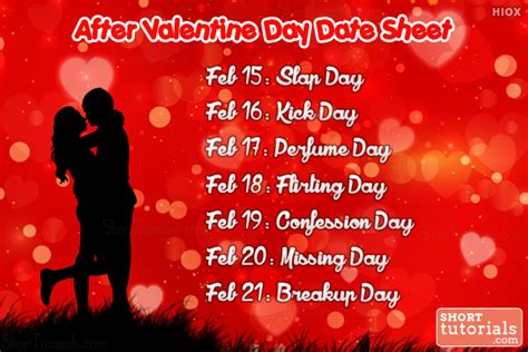 valentines days week anti week days