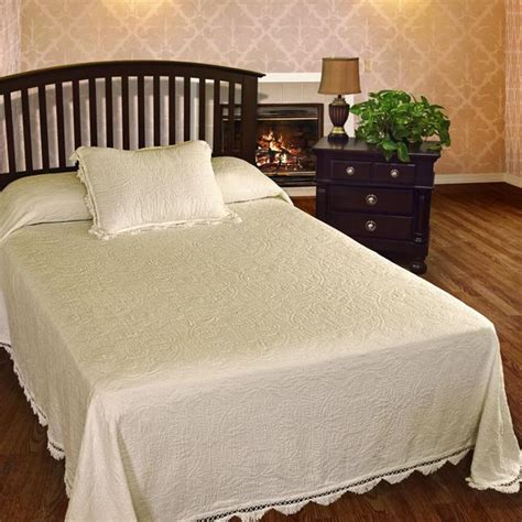 bates bedspreads and coverlets colonial rose bedspread bates mill store