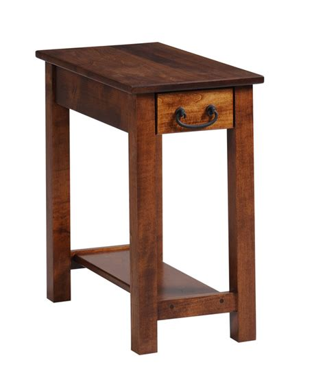 Chair Side Table Express Chairside Table In Solid Hardwood Ohio Hardwood Furniture