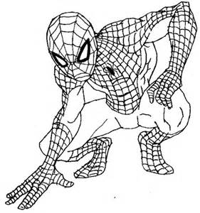 how to draw spiderman for andrew pinterest coloring