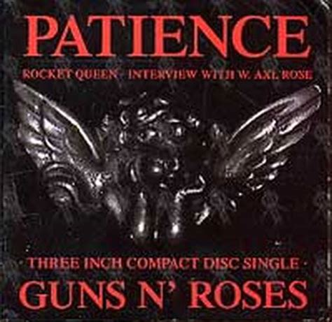 testo patience guns n roses guns n roses patience cd single ep records