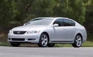 2007 Lexus Gs Car And Driver