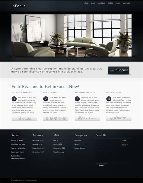 wordpresss templates 65 superb themes for entrepreneurs wp solver