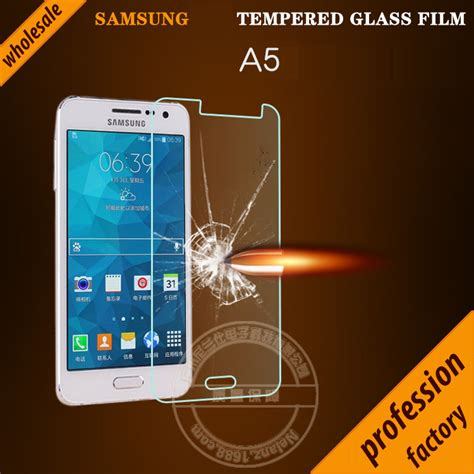 Anti Gores Tempered Glass Kaca For Samsung A5 2017 screen protector tempered glass for samsung samsung galaxy a5 5 0 5 0 0 26mm 9h anti