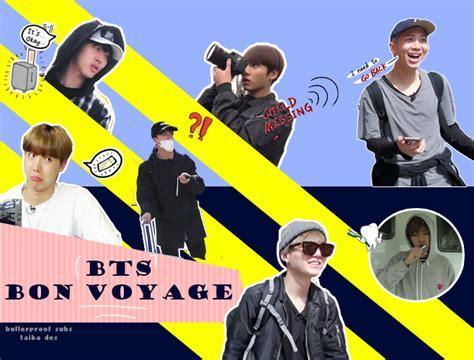 bts bon voyage season 1 bulletproof a r m y bts bon voyage s1