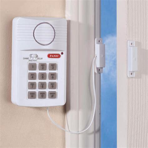 home security alarm system wireless door window sensors
