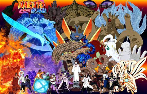 imagenes impresionantes de naruto loa personajes m 225 sa fuertes del anime bijjus susanos