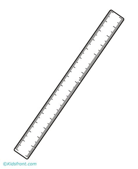 free coloring pages of centimeter ruler the gallery for gt rulers coloring pages