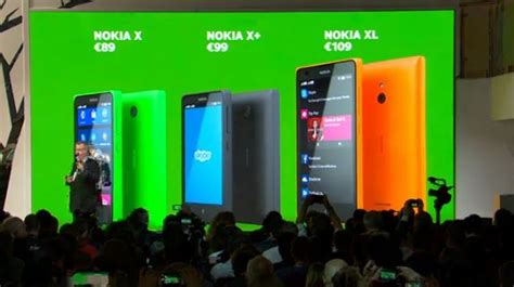 Hp Nokia X Family nokia announces x x and xl android smartphones at mwc 2014 gizmocrazed future technology news