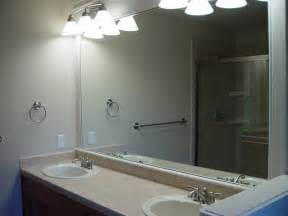 mirrors in bathrooms small frameless mirror bathroom vanity frameless mirrors