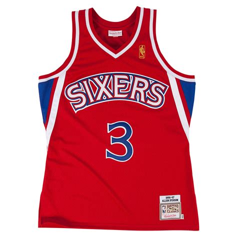 Jersey Authentic Allen Mitchell Ness Bucks Jersey Size M 40 mitchell ness nostalgia co allen iverson 1996 97 authentic jersey