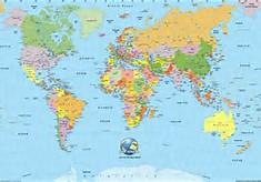 Atlas World Map Countries