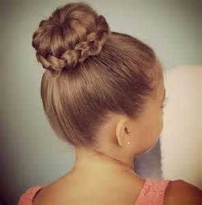 Easy hair updos for kids