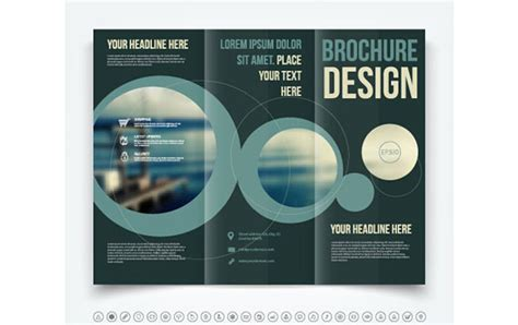 tri fold brochure design layout in adobe illustrator tri fold brochure template 20 free easy to customize designs