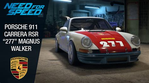 magnus walker 277 need for speed 2015 porsche 911 rsr quot 277 quot magnus