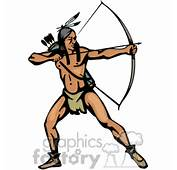 Indian Indians Native Americans Western Navajo Hunter Hunting Bow And