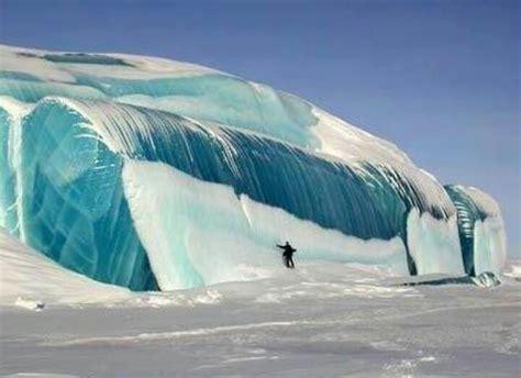 frozen waves frozen wave in antarctica that s cool pinterest