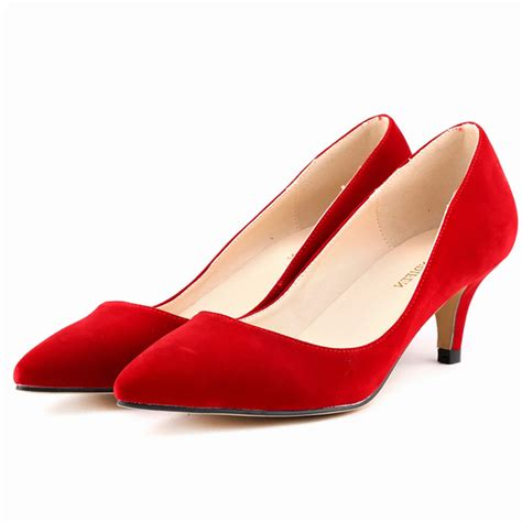 Low Wedding Heels by Get Cheap Low Heel Wedding Shoes Aliexpress