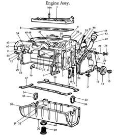 Ford Parts Diagrams Ford 8n Engine Parts List