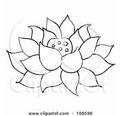 Lotus Flower Tattoo Outline  Like