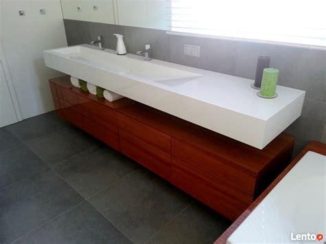 corian umywalka umywalki podw 243 jne z blatem umywalka na wymiar corian staron