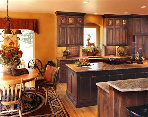 Country Kitchen Cabinets Ideas Rustic And Country Kitchens