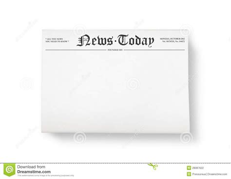 newspaper headline template best photos of blank newspaper headline blank newspaper