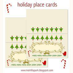 printable christmas menu cards 1000 images about free printable menu name cards on