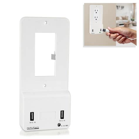wall plate with built in light pyle pwplgult214 tools and meters wall plates in