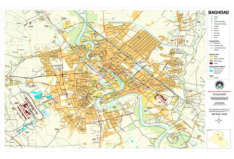 map of iraq and surrounding area baghdad iraq downtown map baghdad iraq mappery