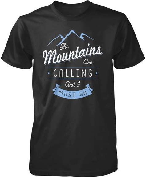 mountains calling shirt hoodie