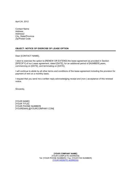 landlord not renewing lease letter to tenant 125713 gif bio examples