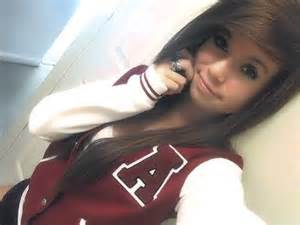 Pretty girl with brown hair tumblr pretty teen girls with brown
