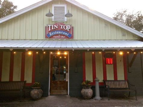 the tin top restaurant oyster bar great seafood spot bild fr 229 n tin top restaurant oyster bar bon secour tripadvisor