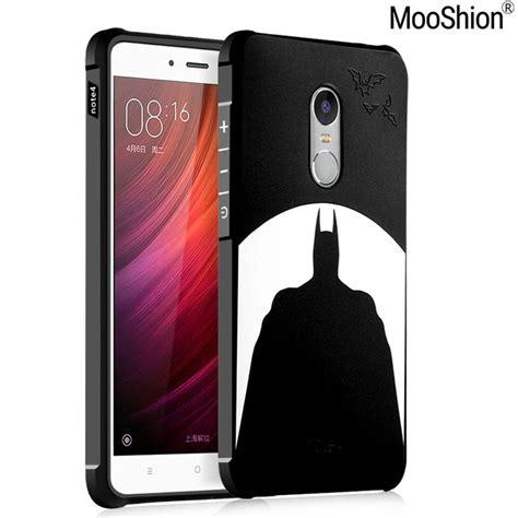 Xiaomi Redmi 4x Stitch 3d Soft Casing Karakter Lucu Cover mooshion luxury brand phone for xiaomi redmi note 4x silicone protective batman cat back