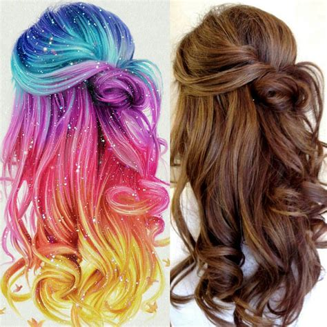 colorful hair colorful hair ronald restituyo