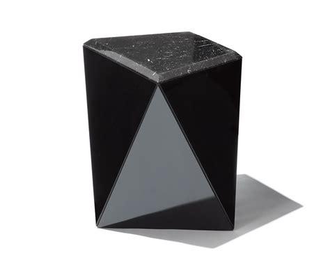 prism chair and ottoman washington prism side table hivemodern com