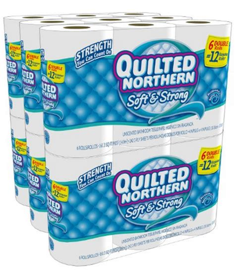 Who Makes Northern Toilet Paper - quilted northern toilet paper 36 rolls for just 16 07