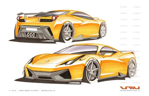 ferrari 458 sketch ferrari 458 italia gt 12 by jmvdesign on deviantart