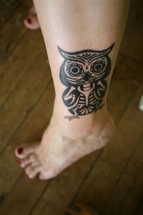 tattoo tribal owl owl tattoo designs ideas photos images pictures