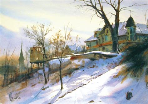 plein air paintings from paint snow hill featured in may 8 plein air painting tips from today s watercolor pros